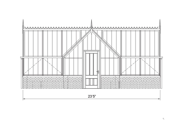 The Redwood Greenhouse | Alitex Victorian Greenhouses USA