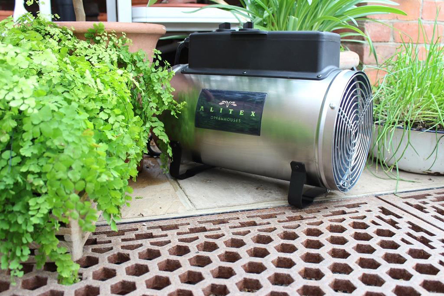 Silver Edwards Heater (Alitex greenhouse accessory)