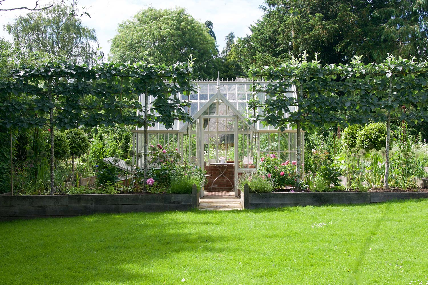 The Chambers Greenhouse from the Alitex Kew Greenhouse Collection
