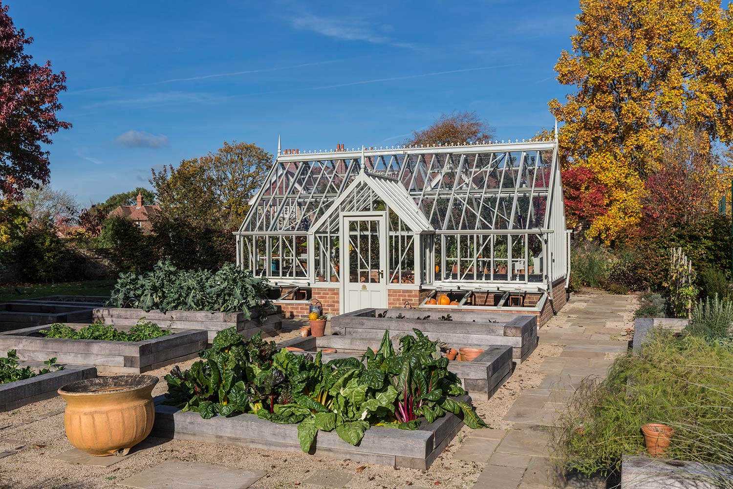 The Crane Greenhouse from the Alitex Kew Greenhouse Collection