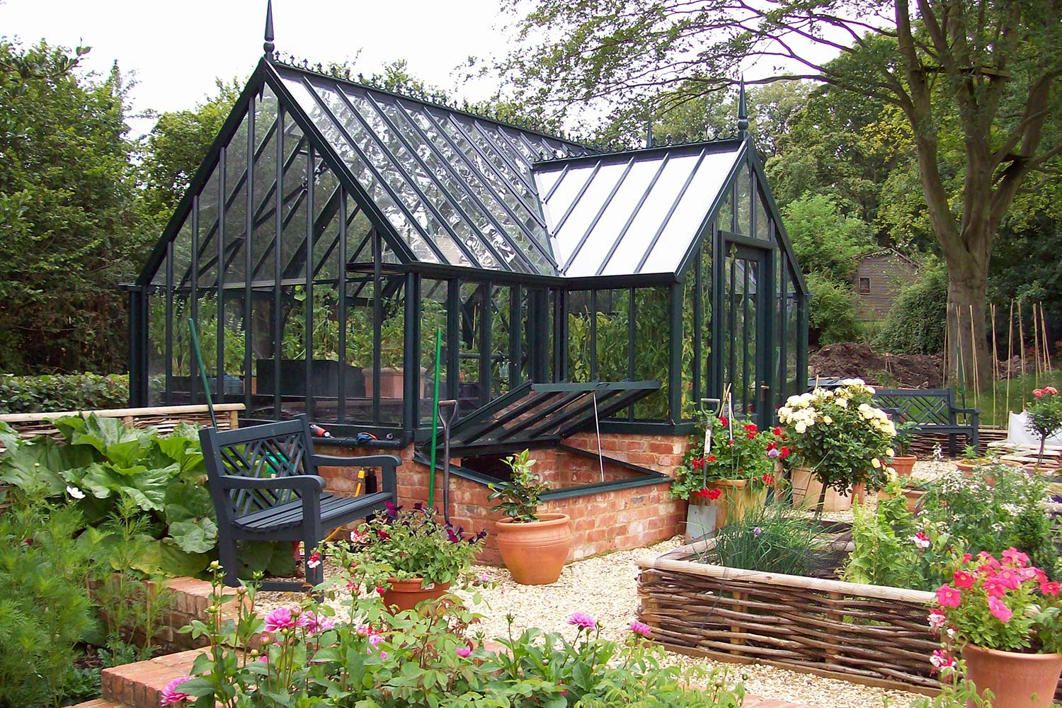 The Fortrey Greenhouse | Alitex Victorian Greenhouses USA