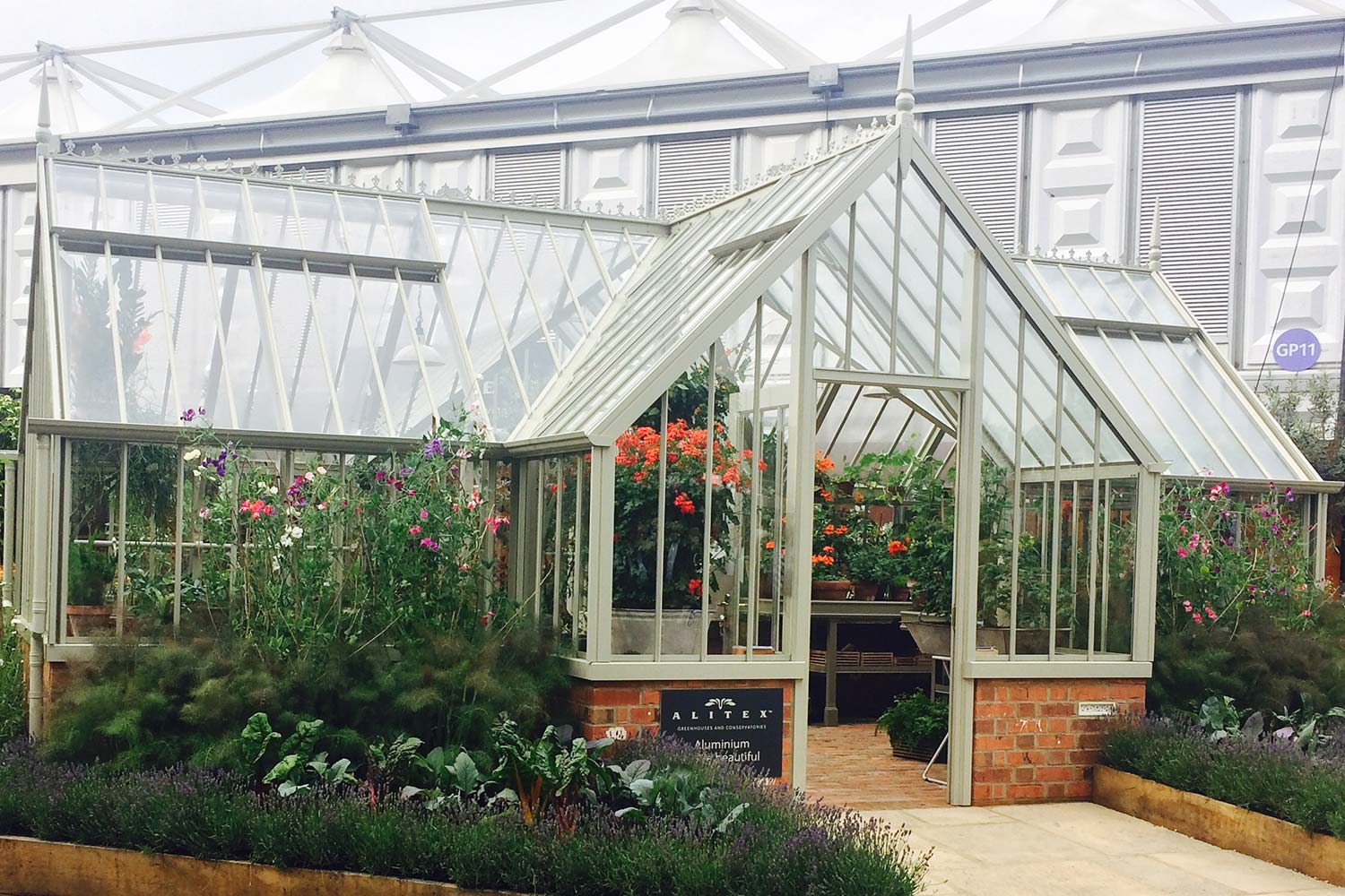The Redwood Greenhouse from the Alitex Kew Greenhouse Collection