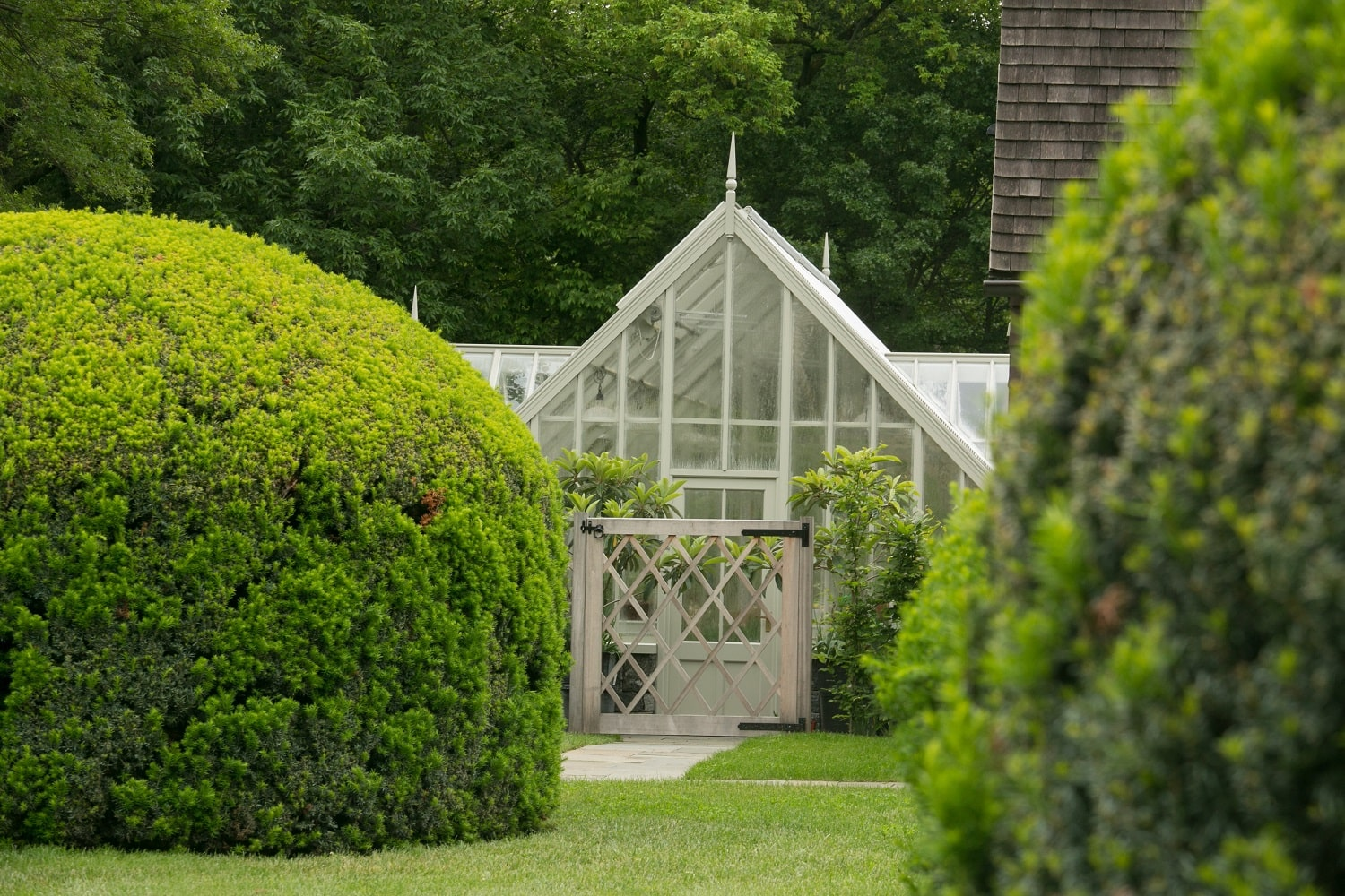 The Exterior of Alitex's Victorian Greenhouse
