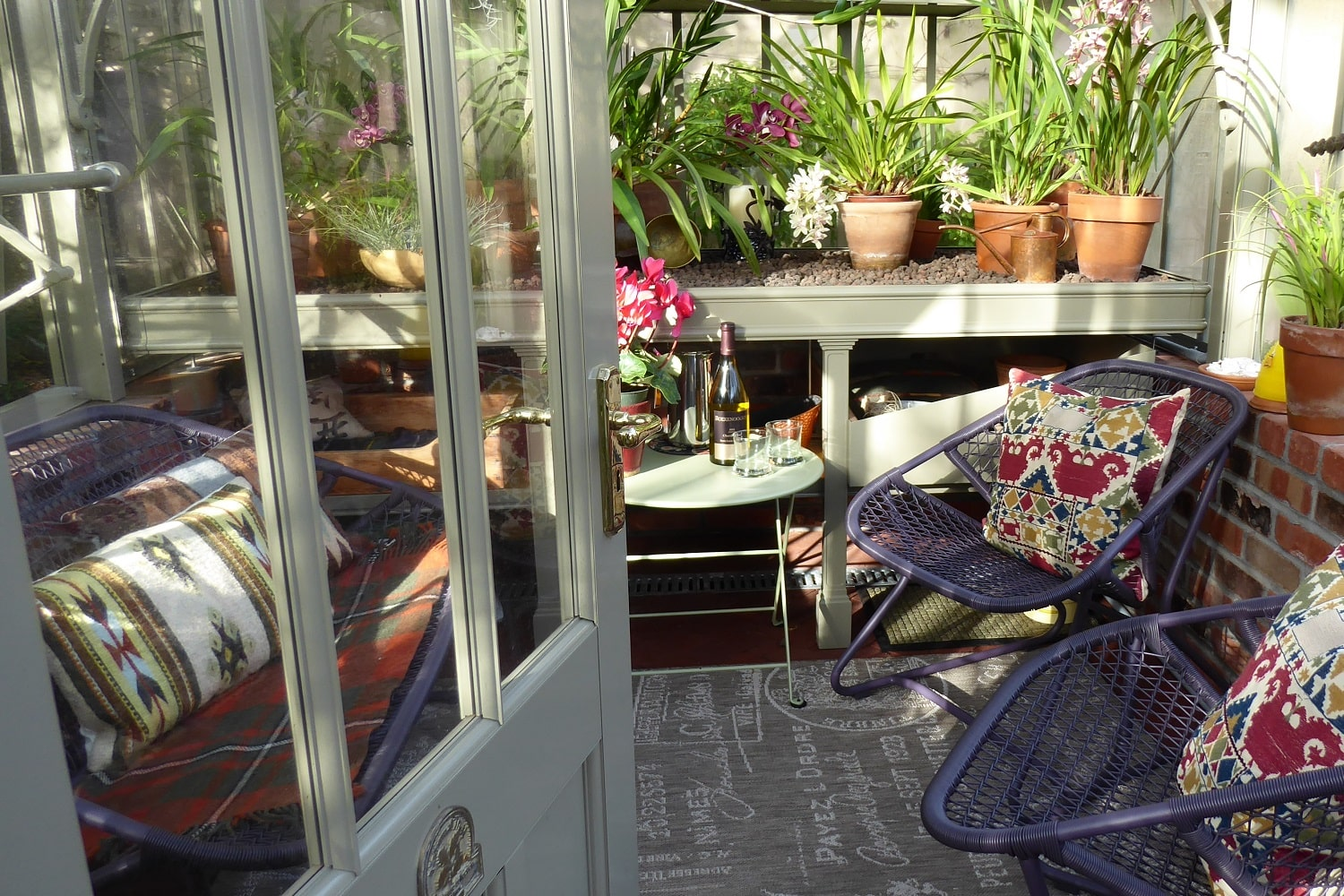 Inside the Californian Capel Greenhouse