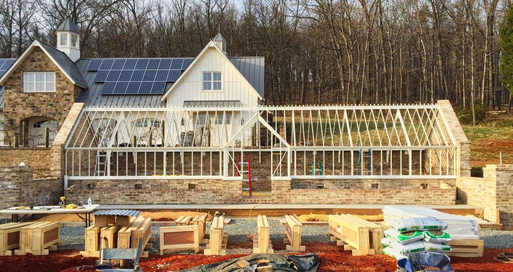 Installing the greenhouse process